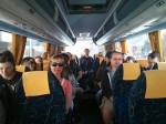 On the bus to Cefalu.