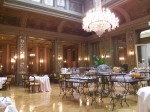Breakfast at our home base, the Hotel Grand des Palmes in Palermo.
